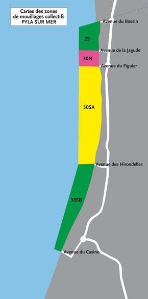 Zone de Mouillage Pyla