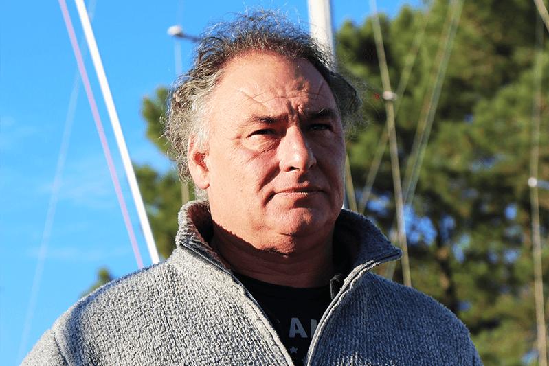 Hervé DUCHESNE-FERCHAL président club de voile cazaux