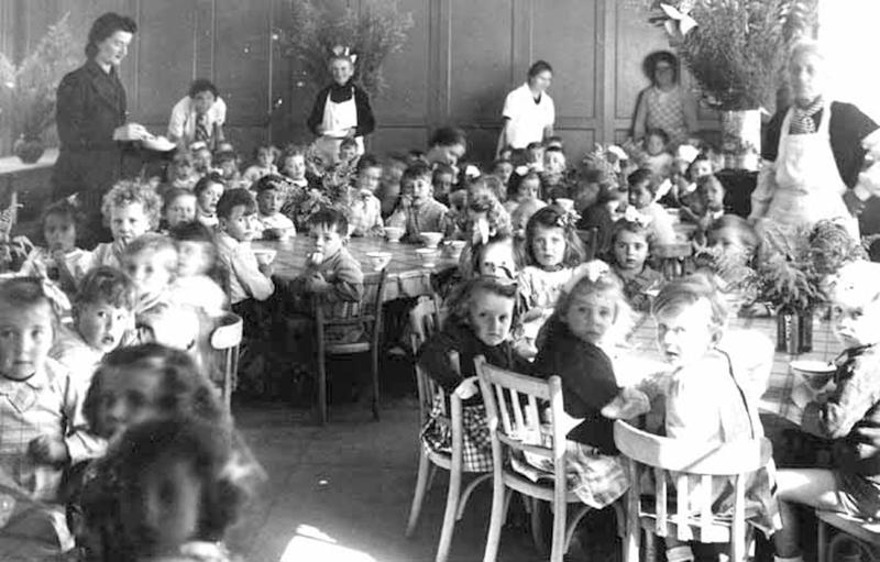 cantine ecole maternelle 1944 la teste de buch