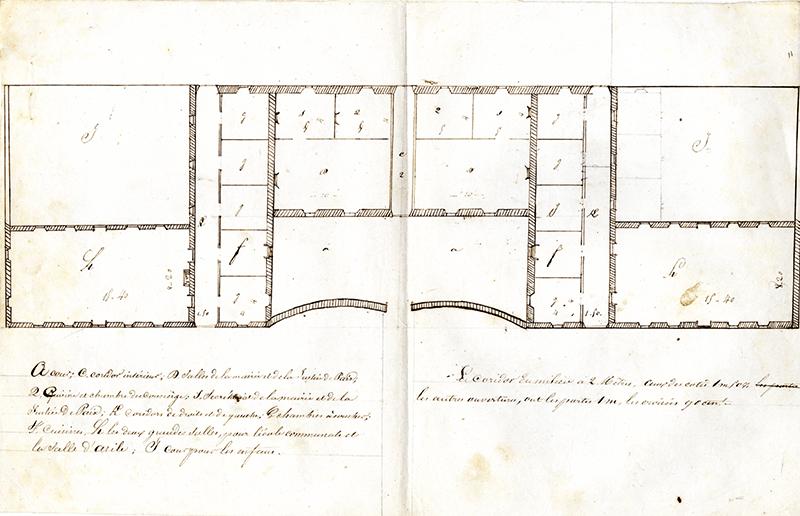 plan école maternelle la teste de buch 1847