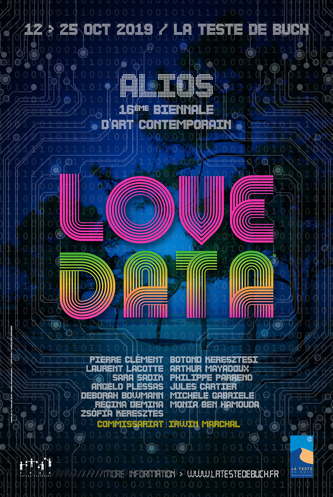 AFFICHE LOVE DATA
