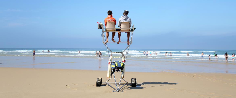 Surveillance des plages de la Teste de Buch