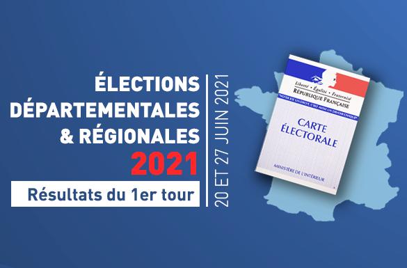 Élections régionales et départementales : Résultats du 1er tour