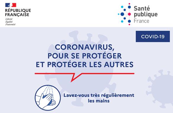 Coronavirus COVID-19 :   Mesures sur la Commune // MAJ 17 mars 2020