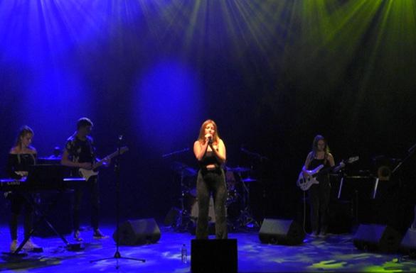 Concert en ligne de Last Year : élèves de l'atelier Musiques Actuelles du Conservatoire