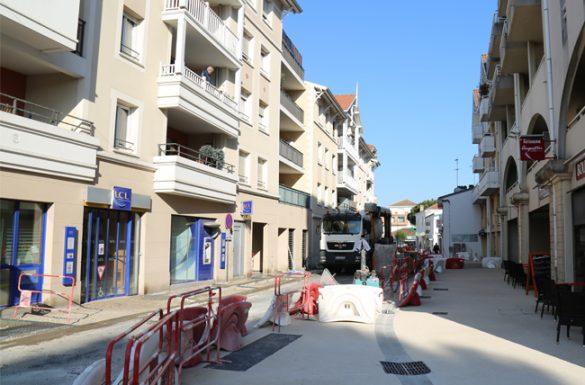 Rue du XIV juillet : début de la phase 2 des travaux
