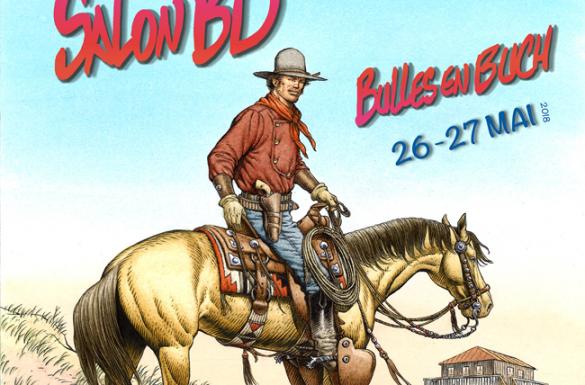 Salon BD : les 26 et 27 mai 2018