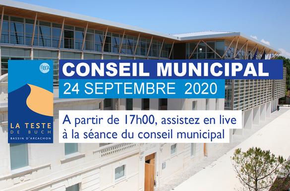 Conseil Municipal : Retrouvez la séance du 24 septembre