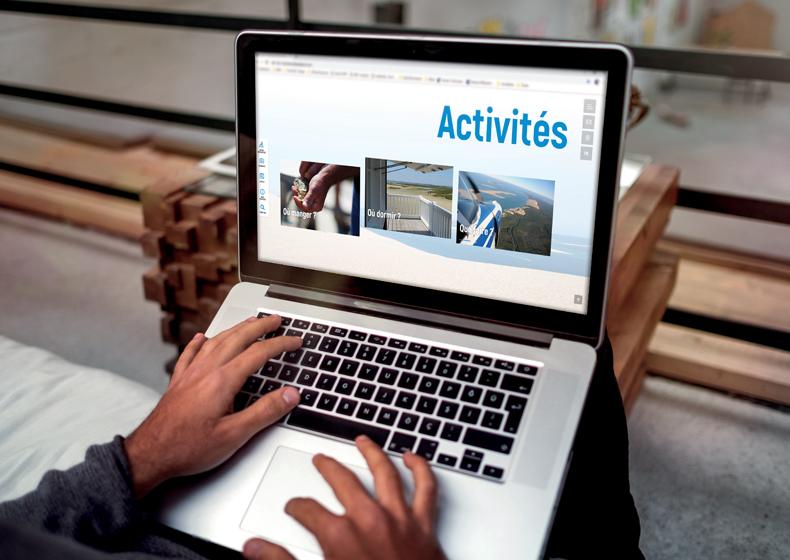 Tourisme :<br/><br /> Un nouveau site internet